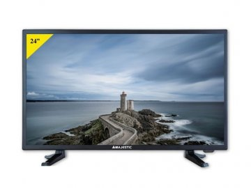 "New Majestic TVD-224 S2 LED MP08 61 cm (24"") Full HD 180 cd/m² Nero A"