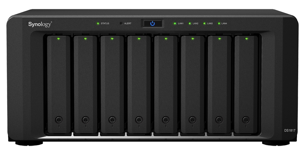 Synology DiskStation DS1817 server NAS e di archiviazione Alpine AL-314 Collegamento ethernet LAN Desktop Nero 2