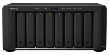 Synology DiskStation DS1817 server NAS e di archiviazione Alpine AL-314 Collegamento ethernet LAN Desktop Nero
