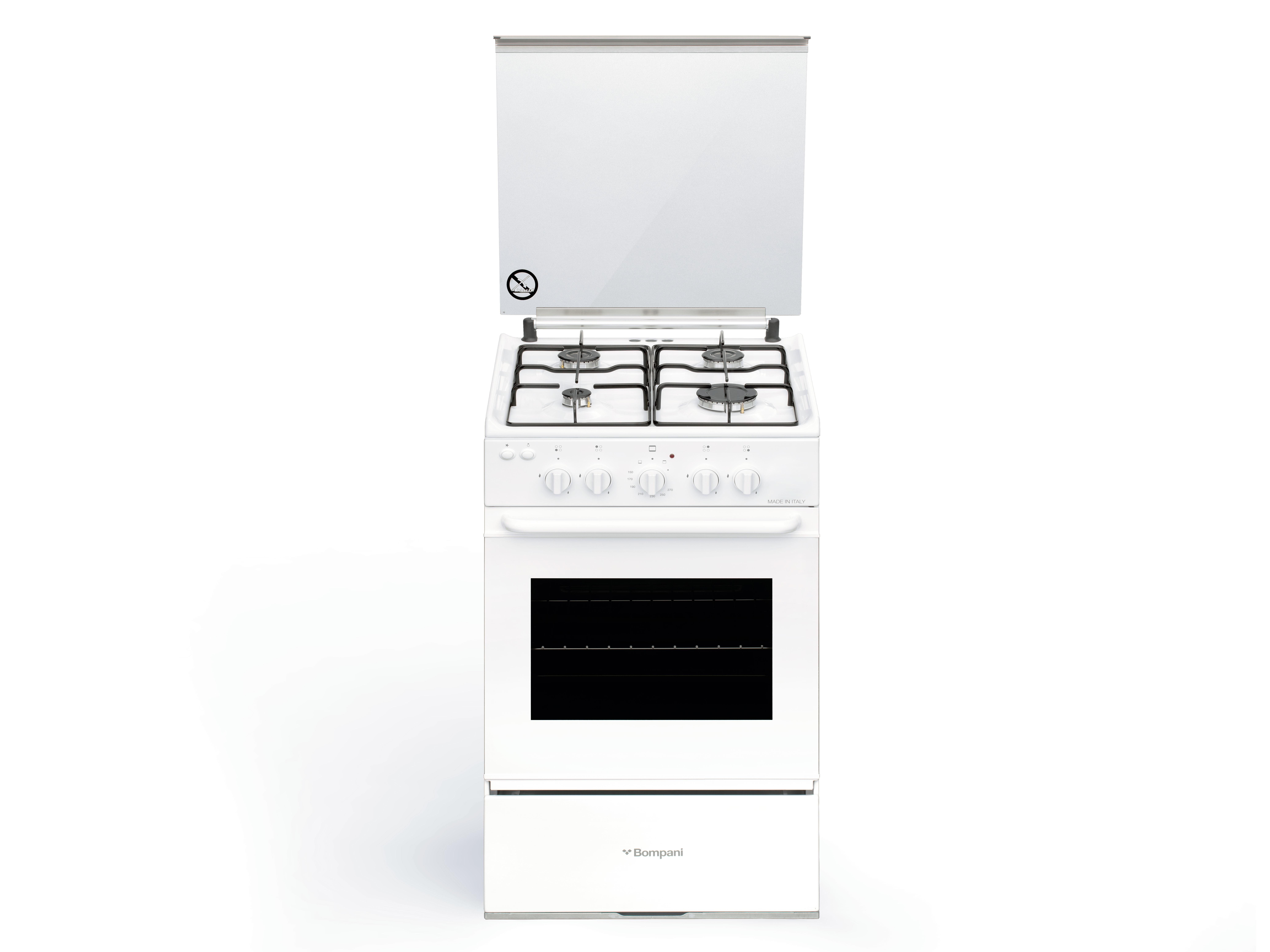 Bi510ecn Bompani Bi510ec N Cucina Piano Cottura Gas Bianco A Cucine A Gas Cottura Negozi Elettronica Roma Radionovelli