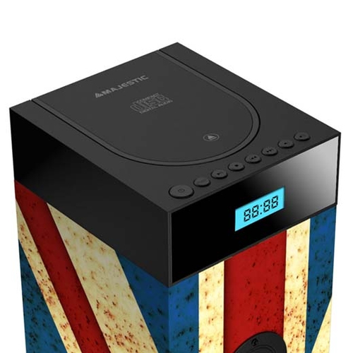New Majestic TS-94 CD BT USB AX 100 W Multicolore Con cavo e senza cavo 4
