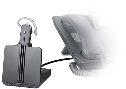 PLANTRONICS CS540 + HL10 MONOAURICOLARE CON MICROFONO WIRELESS CON DOCKING NERO 2