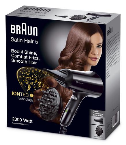 Braun Satin Hair 5 HD 530 Nero 1900 W Asciugacapelli