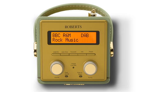 Roberts Radio Revival Mini radio Portatile Analogico e digitale Verde 3