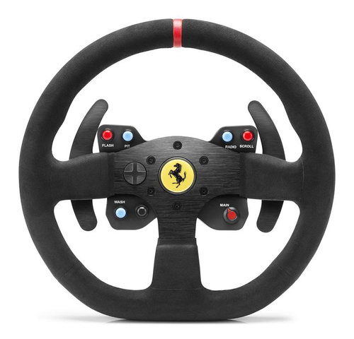 THRUSTMASTER T300 FERRARI ALCANTARA VOLANTE CON PEDALIERA COMPATIBILE PS3/PS4/WIN XP/VISTA/7 COLORE NERO 3
