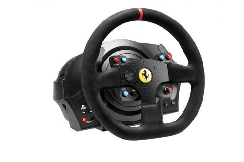 THRUSTMASTER T300 FERRARI ALCANTARA VOLANTE CON PEDALIERA COMPATIBILE PS3/PS4/WIN XP/VISTA/7 COLORE NERO 6