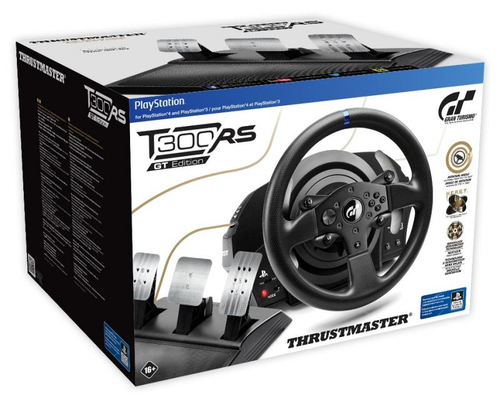 Thrustmaster T300 RS GT Sterzo + Pedali PC,PlayStation 4,Playstation 3 Analogico/Digitale Nero 6