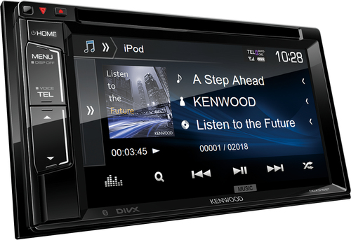Kenwood DDX318 BT Ricevitore multimediale per auto Nero 22 W Bluetooth 3