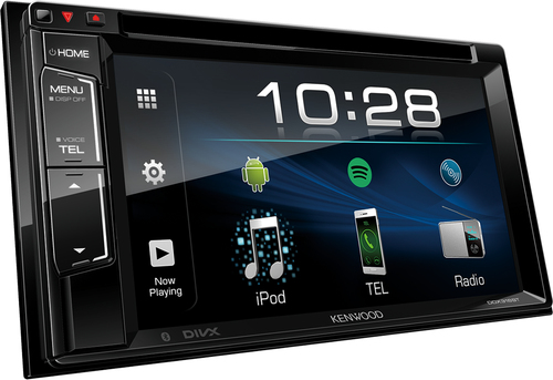 Kenwood DDX318 BT Ricevitore multimediale per auto Nero 22 W Bluetooth 4