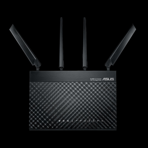 ASUS 4G-AC68U router wireless Dual-band (2.4 GHz/5 GHz) Gigabit Ethernet 3G Nero 3