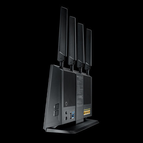 ASUS 4G-AC68U router wireless Dual-band (2.4 GHz/5 GHz) Gigabit Ethernet 3G Nero 5