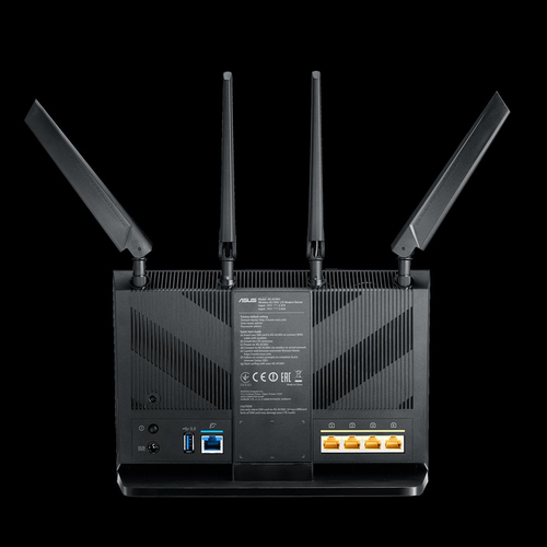 ASUS 4G-AC68U router wireless Dual-band (2.4 GHz/5 GHz) Gigabit Ethernet 3G Nero 6