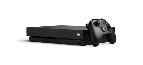 MICROSOFT XBOX ONE X 1.000GB COLORE NERO + SHADOW OF THE TOMB RIDER VERSIONE ITALIANA 2