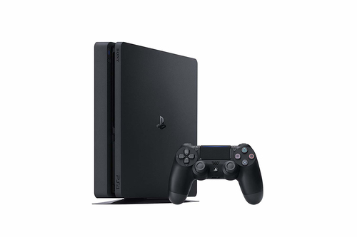 SONY PS4 CONSOLE 1 TB F CHASSIS SLIM BLACK + FIFA 19 2