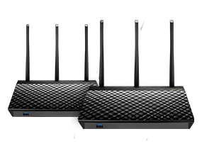 ASUS RT-AC67U 2X ROUTER WIRELESS DUAL-BAND 5xRJ-45 3