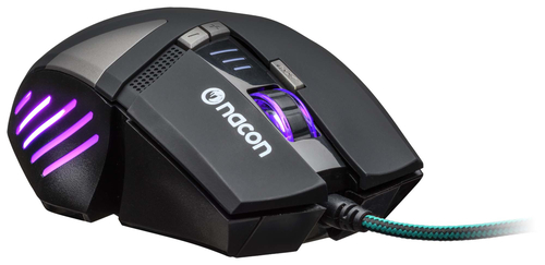 NACON PCGM-300 MOUSE GAMING OTTICO USB 2500 DPI 8 TASTI COLORE NERO 9