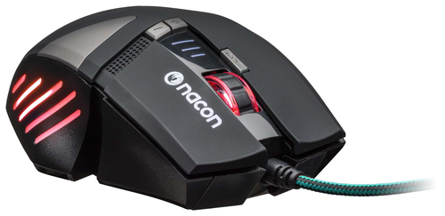 NACON PCGM-300 MOUSE GAMING OTTICO USB 2500 DPI 8 TASTI COLORE NERO 10