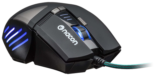 NACON PCGM-300 MOUSE GAMING OTTICO USB 2500 DPI 8 TASTI COLORE NERO 11