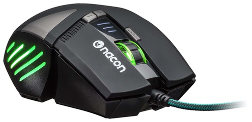 NACON PCGM-300 MOUSE GAMING OTTICO USB 2500 DPI 8 TASTI COLORE NERO 12