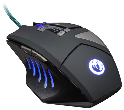 NACON PCGM-300 MOUSE GAMING OTTICO USB 2500 DPI 8 TASTI COLORE NERO 16