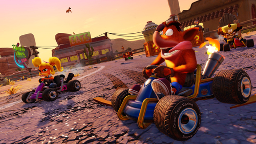ACTIVISION 88408IT NINTENDO SWITCH CRASH TEAM RACING OXIDE IT 2