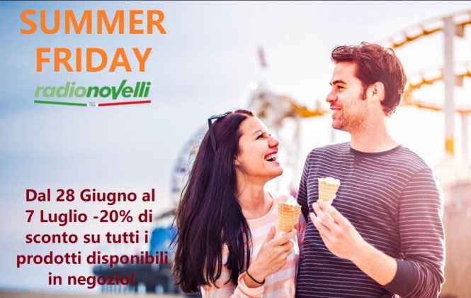 Summer Friday da Radionovelli!